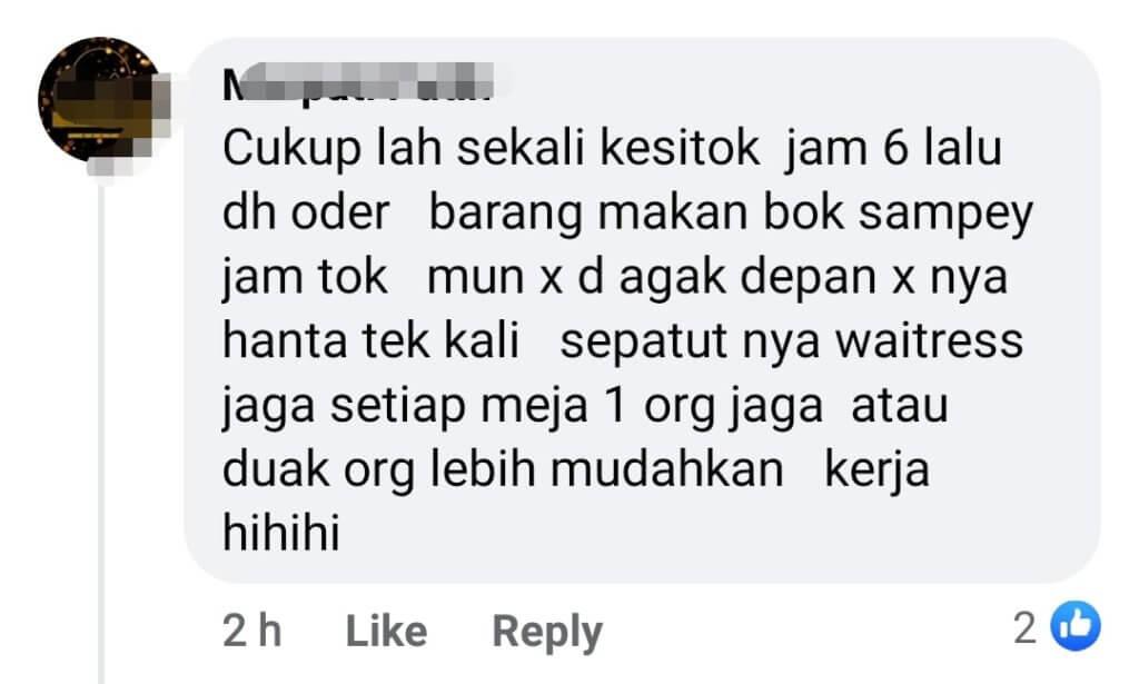 Tunggu Lebih 2 Jam, Netizen Bengang Servis Buruk Pakej Berbuka Pusat Konvensyen Di Kuching