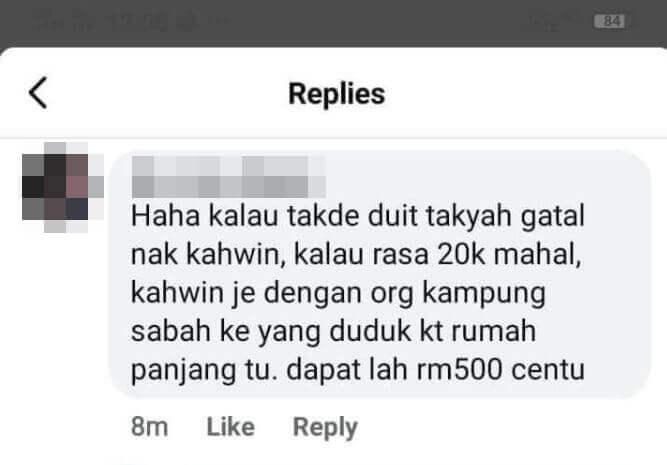 Wanita Hina Hantaran Gadis Sabah Sarawak Mohon Maaf, Terima Ugutan Rogol Dan Santau