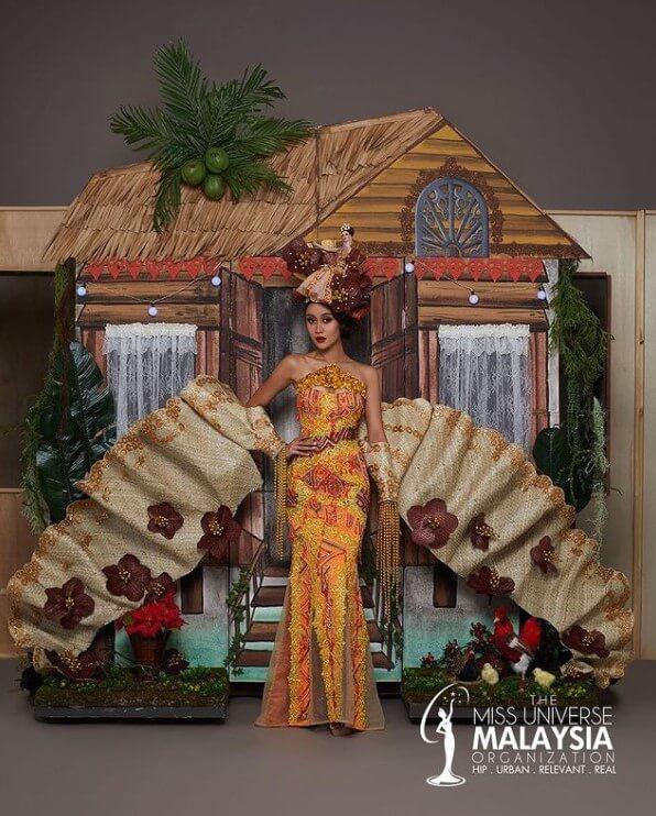 Rumah Kampung 3D Yang Megah Ini Bakal Jadi Taruhan Kostum Nasional Miss Universe Malaysia 2020