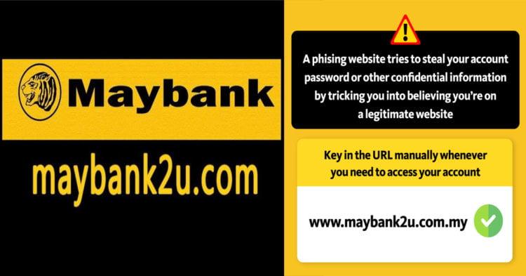Terima SMS, Emel Atau WhatsApp dari Maybank Untuk Log Masuk? Hati-hati, Ia Mungkin Satu Scam