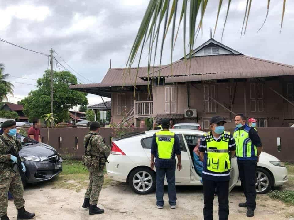 Muat Naik Gambar Langgar SOP Sambut Hari Raya, 11 Individu Bantu Siasatan Polis Di Kota Samarahan