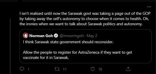 Peluang Masih Dibuka Jika Sarawak Mahu U-Turn Ambil Vaksin Astra Zeneca - Khairy Jamaluddin