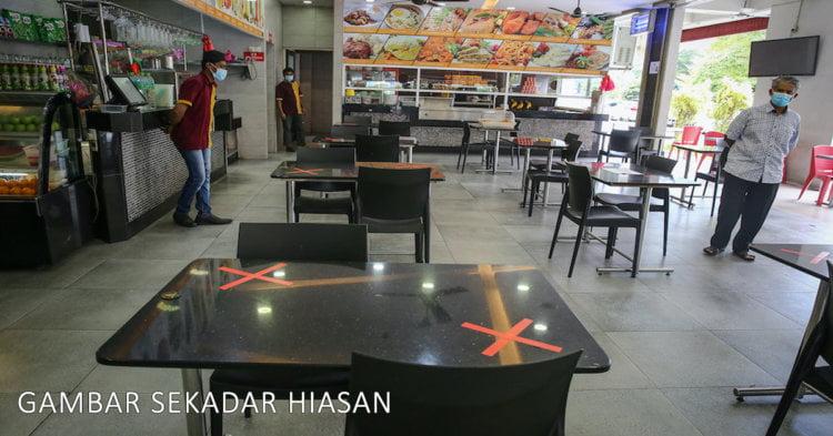 Mulai 12 Mei, Dilarang Makan Dan Minum Dalam Restoran Di Miri Sepanjang PKPB