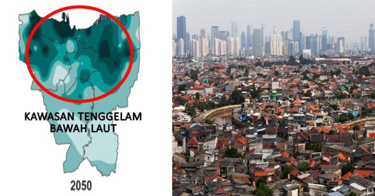 Ibu Kota Indonesia Bakal Berpindah Ke Kalimantan, Ini Sebab Mengapa Jakarta Dikatakan Semakin Tenggelam