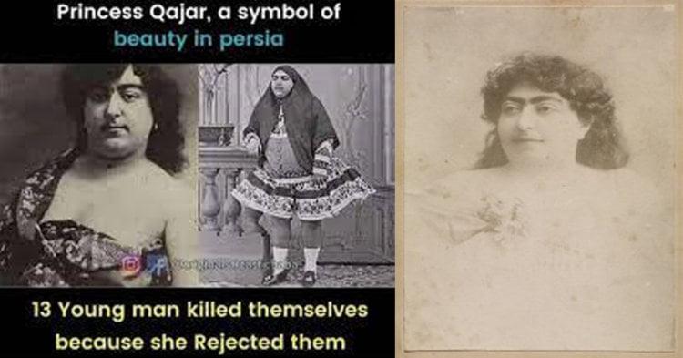 Puteri Qajar, Simbol Kecantikan Wanita Parsi Yang Didakwa Mengakibatkan 13 Lelaki Bunuh Diri