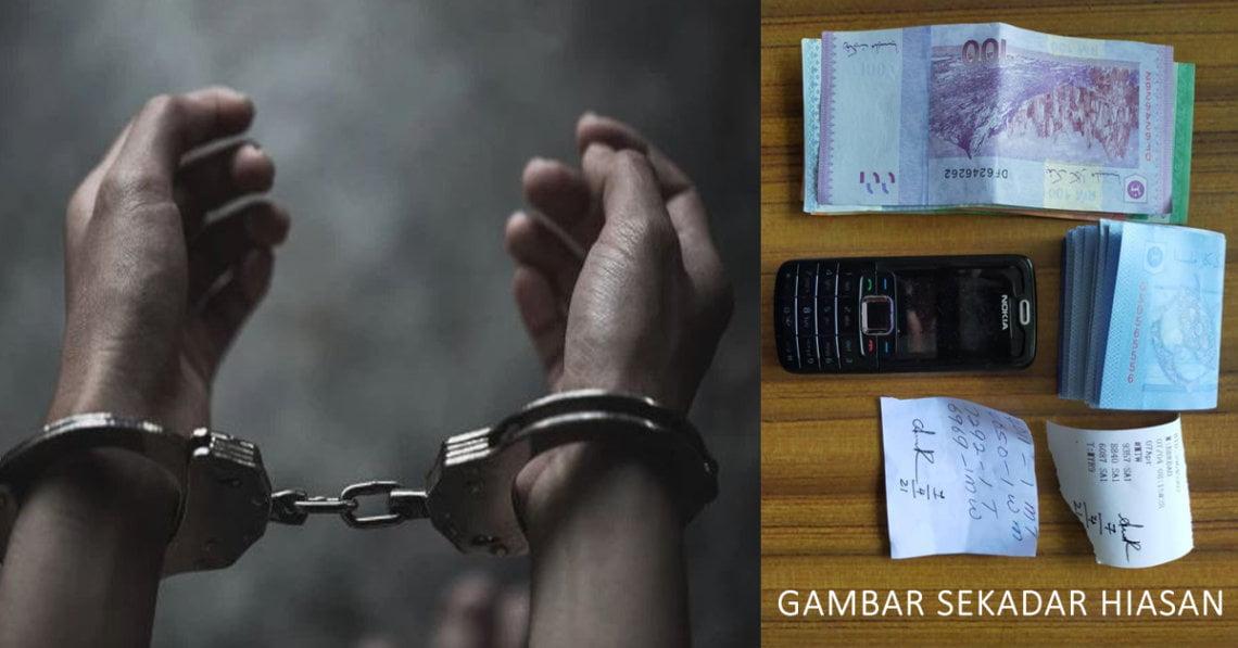 Gara-Gara Membantu Jual Tiket Loteri Haram, Lelaki Dari Miri Ini Dijatuhkan Hukuman Penjara 3 Bulan