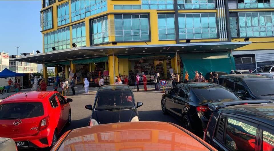 Susulan PKP Sabtu Ini, Pembelian Panik Sudah Mulai Kelihatan Di Sarawak