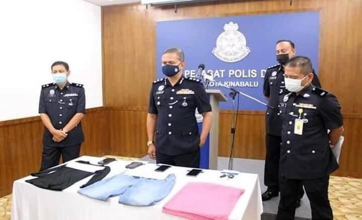 Padah Ugut Polis Dengan Perkataan Tak Senonoh, Wanita Di Kota Kinabalu Kini Ditahan