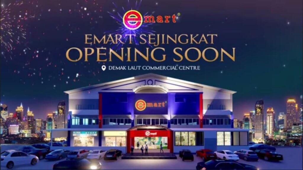 Luaskan Pasaran, Cawangan Ke-10 Pasaraya Emart Summer Mall Samarahan Dibuka Secara Rasmi Jumaat Ini