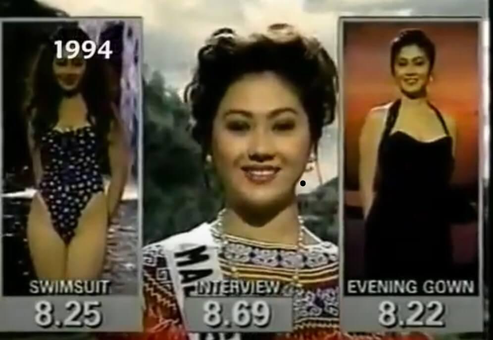 Ngepan Indu Iban Bertaraf Antarabangsa, Pernah Wakili Malaysia Dalam Pertandingan Miss Universe