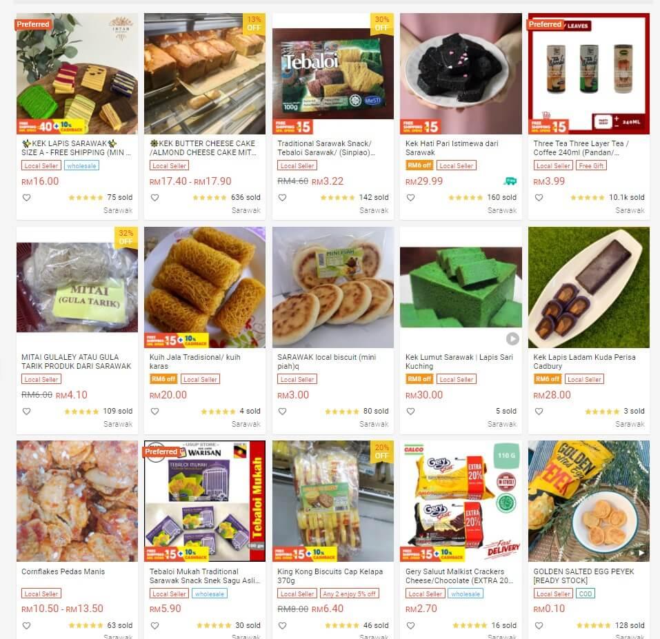 Teringin Makanan Dan Barang Sarawak? Sarawak Digital Mall Di Shopee Boleh Lunaskan Kerinduan Anda