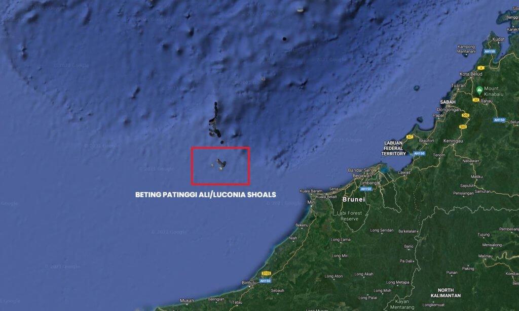 Apa Istimewanya Beting Patinggi Ali? Perairan Sarawak Yang Menjadi Rebutan China