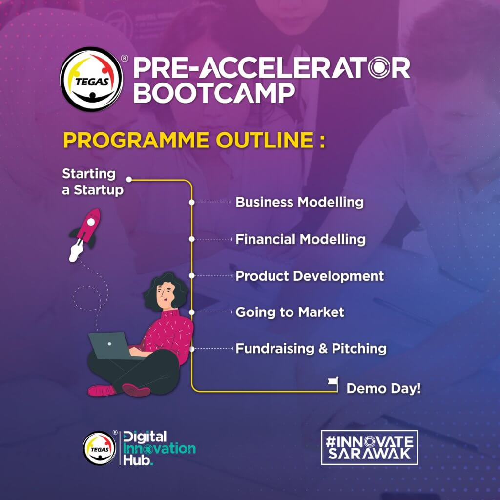 Peluang Dibimbing Oleh Pengasas Fave, Jom Sertai TEGAS Pre-Accelerator Bootcamp 2021
