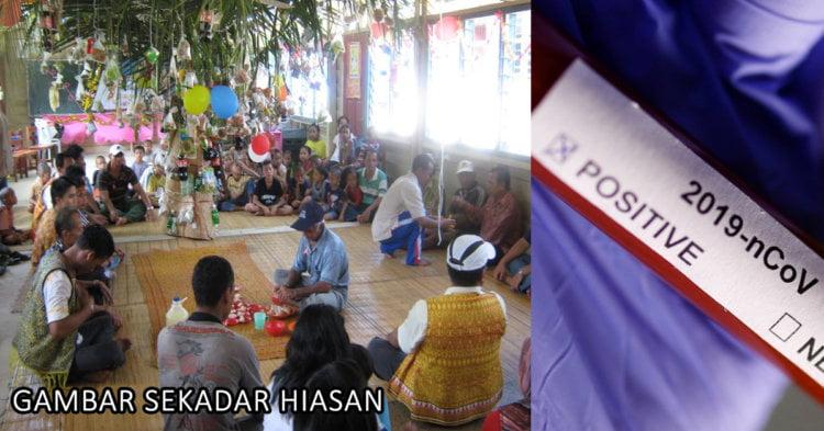Salah Satu Kluster Baharu Di Sarawak Berpunca Daripada Perhimpunan Sosial Menjelang Hari Gawai
