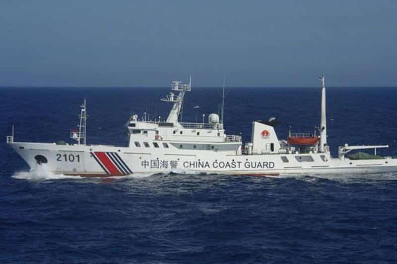 Perairan Miri Kembali Dihendap China, Kali Ini Giliran Kapal Pasukan Pengawal Pantai Pula