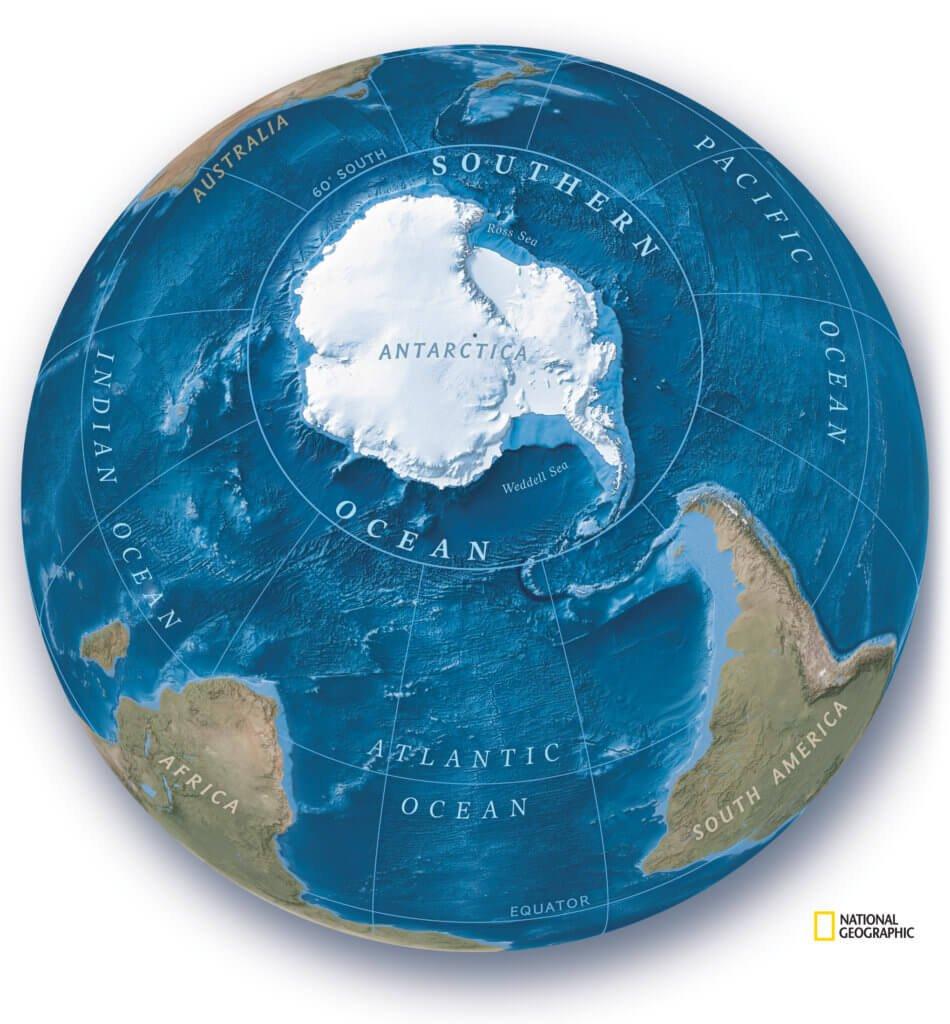 Memperkenalkan Lautan Selatan, Lautan Kelima Yang Diiktiraf Sebagai Lautan Utama Dunia