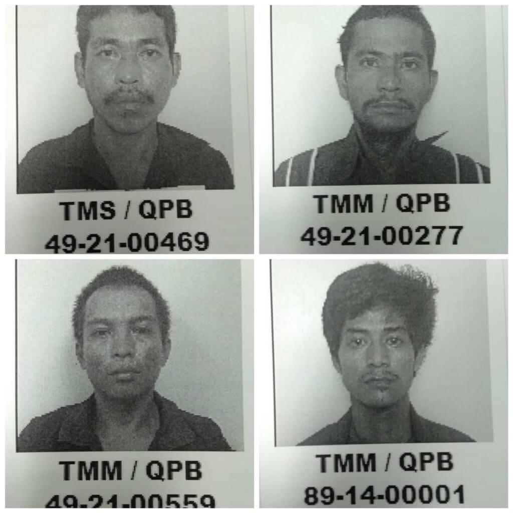 4 Banduan Larikan Diri Dari Penjara Puncak Borneo Padawan, 2 Berjaya Ditahan Manakala 2 Lagi Masih Lolos
