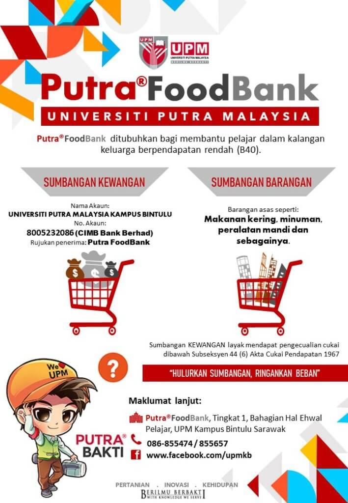 Bagi Mereka Yang Memerlukan Di Musim PKP, Ini Adalah Senarai 'Food Bank' Yang Boleh Didapati Di Sarawak