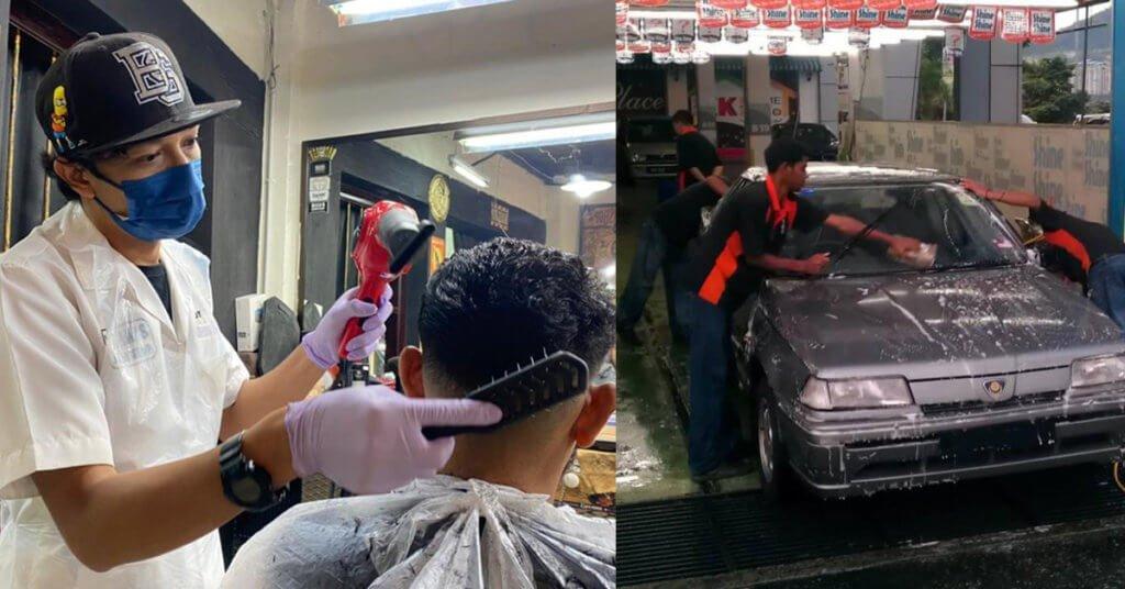 Kedai Gunting Rambut Boleh Dibuka, Berikut Adalah Senarai Sektor Yang Dibenarkan Beroperasi Mulai Hari Ini