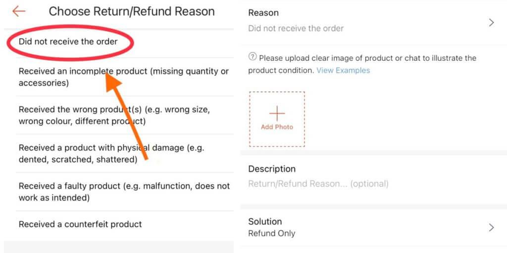 Ketahui Cara Buat Tuntutan Refund Di Shopee Jika Barang Anda Hilang, Rosak Dan Lambat Sampai