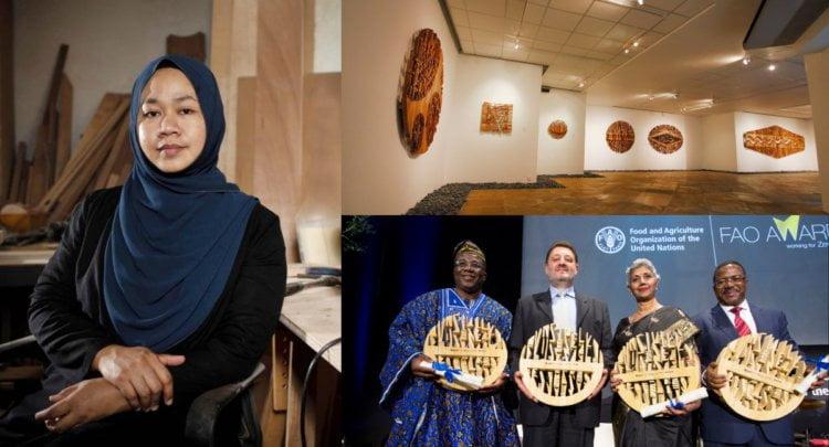 Artis Kelahiran Sarawak Ini Hasilkan Ukiran 'Rutit' Pua Kumbu Sehingga Dapat Perhatian United Nations