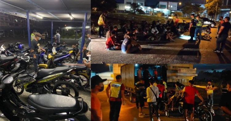 Padah Lakukan Wheelie Di Hadapan Polis Di Kuching, Remaja 17 Tahun Ditangkap