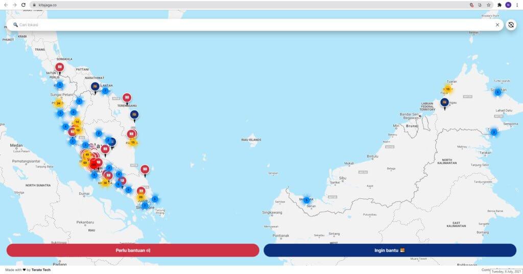 2 Platform Ini Bolehkan Anda Kibar 'Bendera Putih' Secara Online Dan Lihat Senarai Bank Makanan