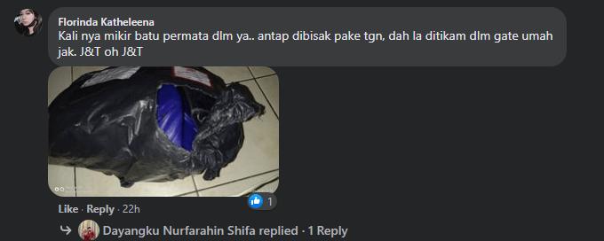 J&T Kuching Buat Hal Lagi, Netizen Kesal Dengan Servis Kurier Yang Acap Kali Cuai Dan Tidak Amanah