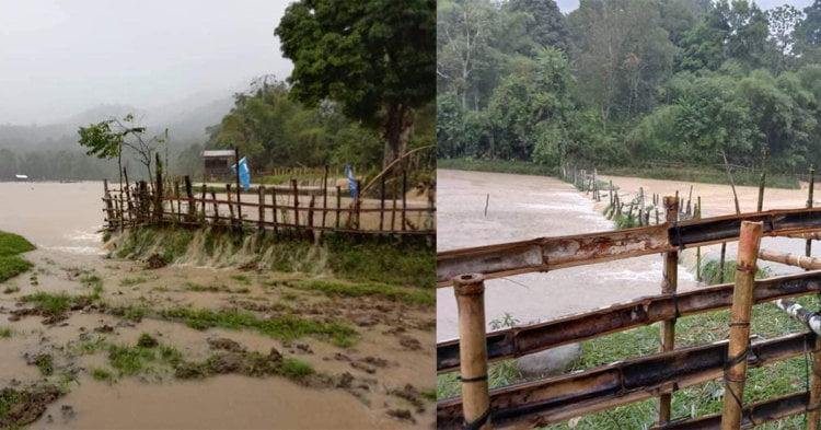 TERKINI : Hujan Berterusan, Lawas Dilanda Banjir Kilat