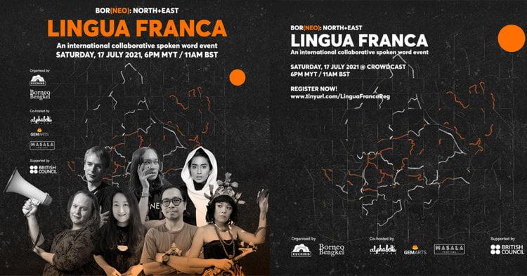 Peminat Puisi Wajib Tonton 'Lingua Franca', Acara Dalam Talian Hasil Kolaborasi Sarawak Dan England Utara