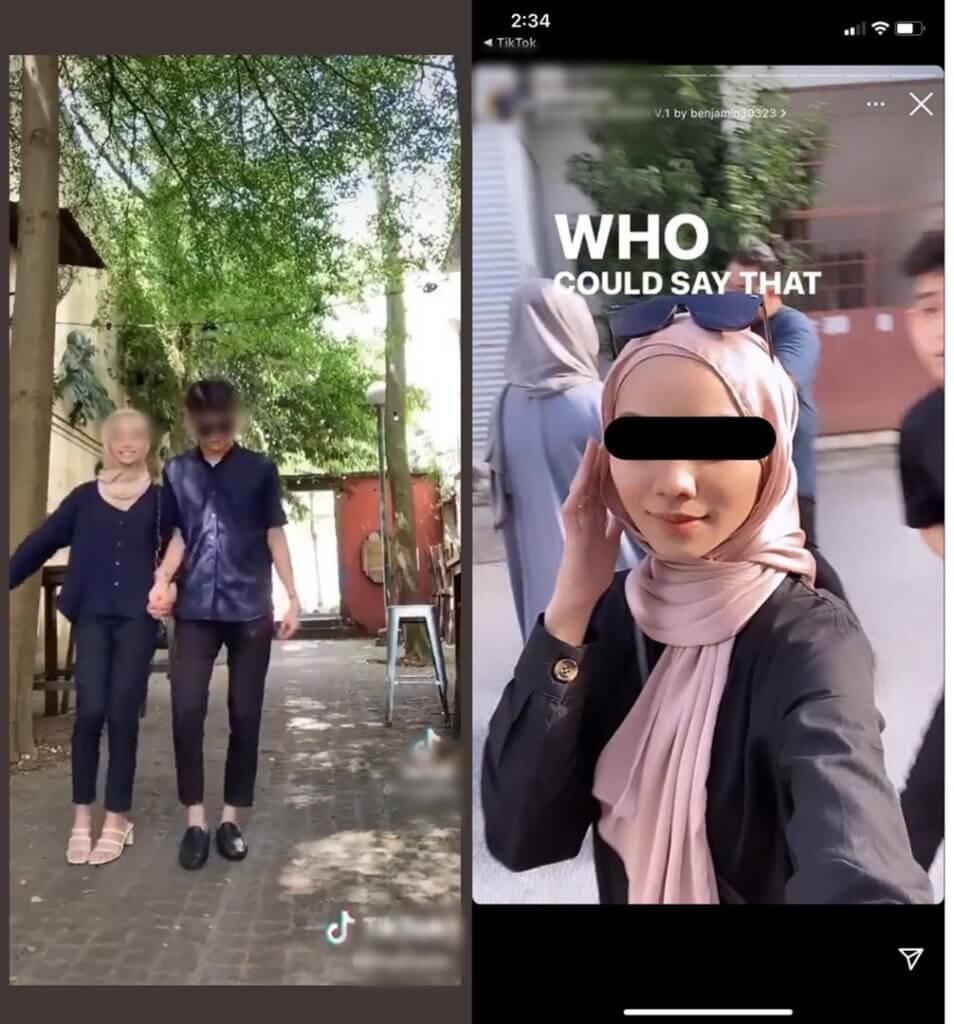 """""""Kekalkan SOP Kecuali Bersama Kekasih,"""" Netizen Bengang Gadis BBNU Sarawak Ini Keluar Sesuka Hati Semasa PKP"""