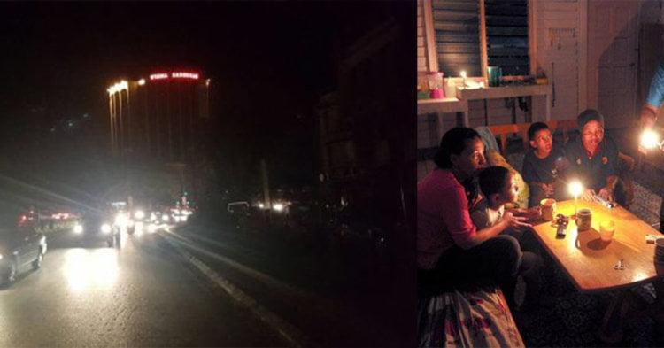 TERKINI : Kecoh Blackout Hampir Di Seluruh Sarawak, Kini Pulih Secara Berperingkat