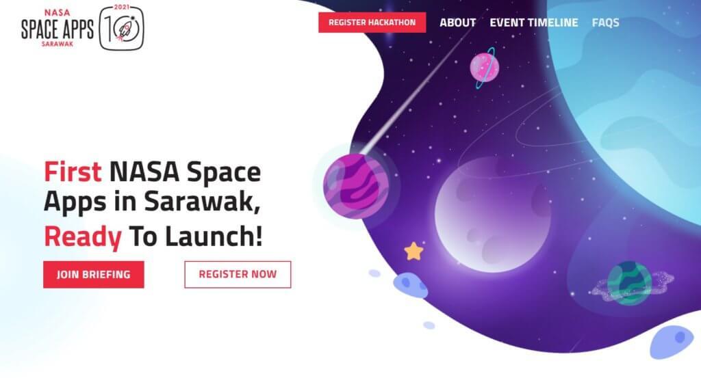 Sertai NASA Space Apps Hackathon, Hackathon 48 Jam Pertama Dianjurkan Sarawak Bersama NASA