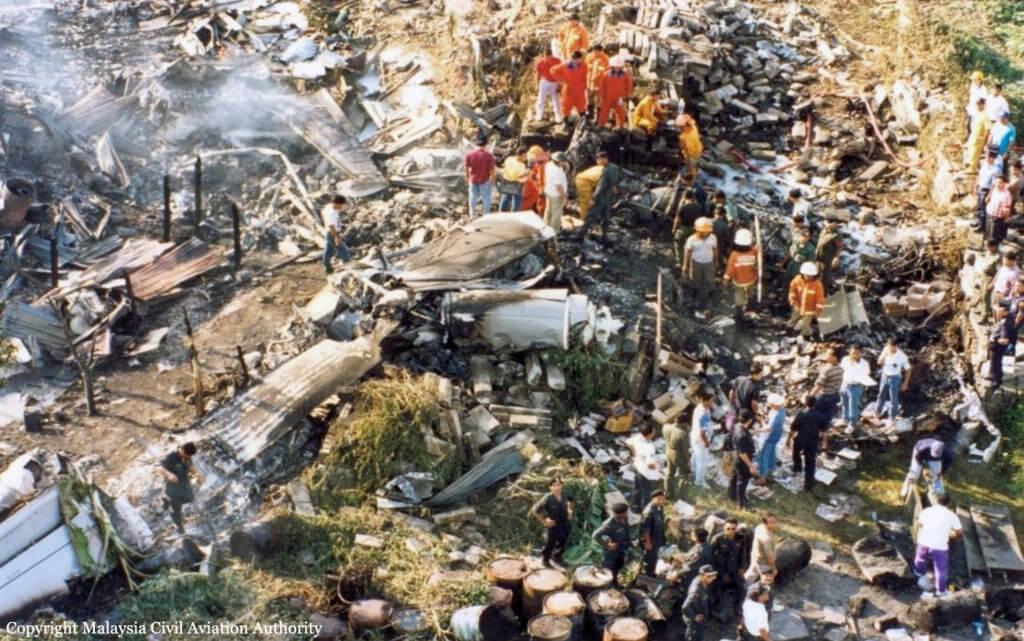 Mengimbau Nahas Dahsyat MAS Fokker 50 Yang Terhempas Di Kampung Setinggan Tawau Pada Tahun 1995