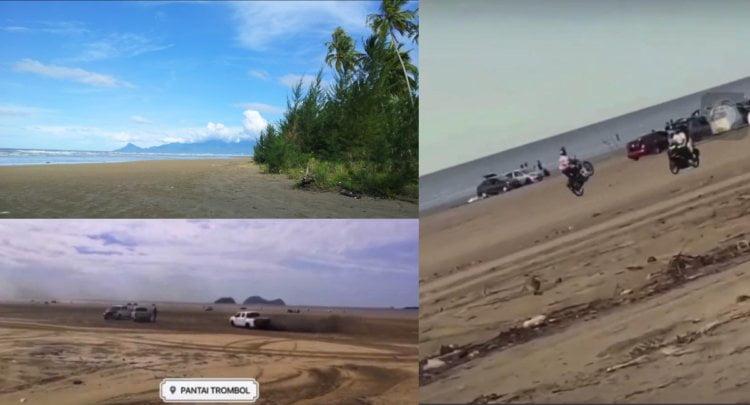 Punca Rezeki Para Nelayan, Netizen Gesa Aktiviti Rempit Di Pantai Trombol Kuching Dihentikan Segera