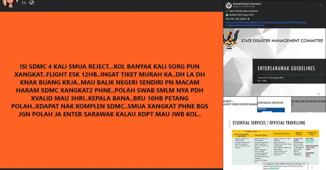 Salah Hantar Dokumen Punca Individu Viral Ditolak Permohonan Masuk Ke Sarawak