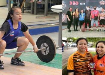 4 Atlet Wanita Sabah Ini Berjaya Bolot 4 Pingat Emas Kejohanan Angkat Berat Kebangsaan