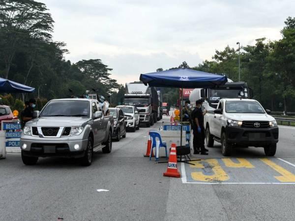Uggah : Sekatan Jalan Dibubarkan Esok, Perjalanan Rentas Daerah Tidak Lagi Memerlukan Permit Polis