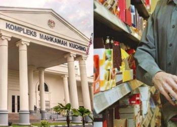 Curi Makanan Di Klinik Kesihatan Jalan Masjid, Lelaki Ini Dipenjara 3 Bulan Di Kuching