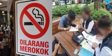 Lebih 3000 Notis Kesalahan Merokok Dikeluarkan, Sarawak Kedudukan Ketiga Tertinggi