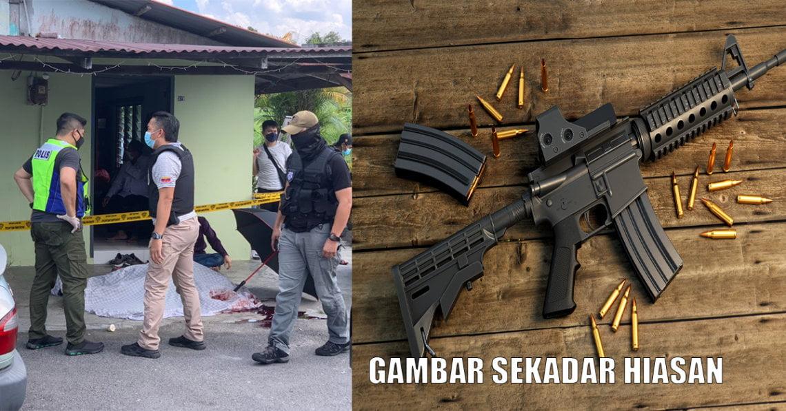 Ibu Mentua Selisih Ajal, Seorang Lelaki di Sarawak Maut Tembak Diri Sendiri